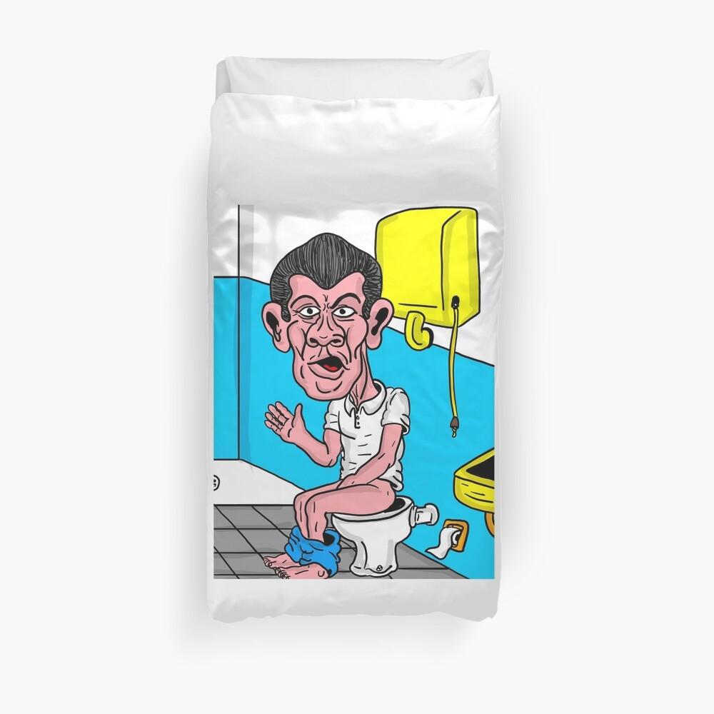 Badezimmer Bettbezug