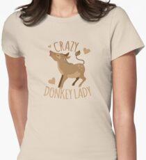 Crazy Donkey Lady T-Shirt