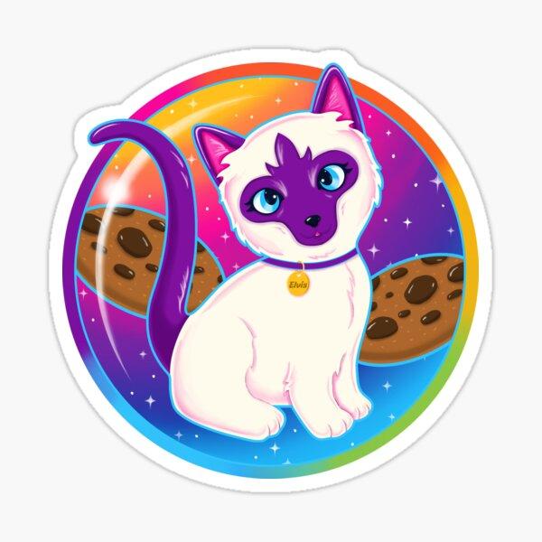Elvis, want a cookie? Sticker