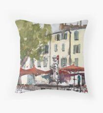Aix-en-Provence, France Throw Pillow