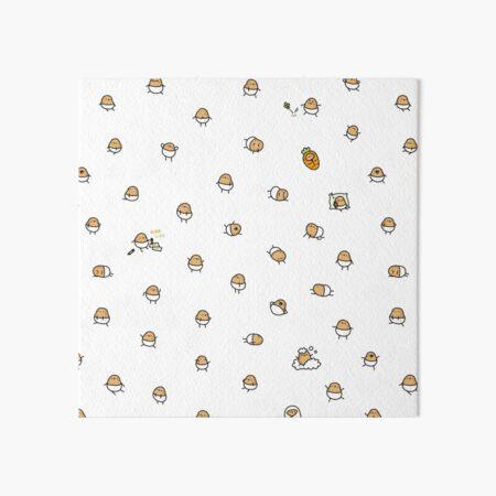 Baby Potato Art Board Print