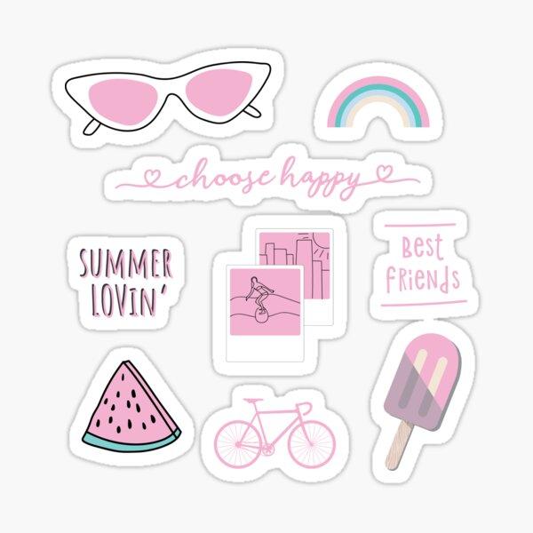 Pink Sticker Pack Sticker