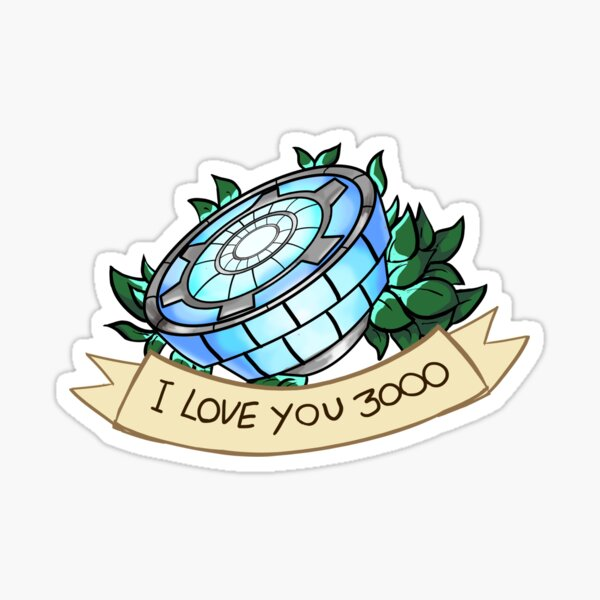 Je t'aime 3000 Sticker