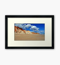 Praia da Falésia Beach - Portugal Framed Print