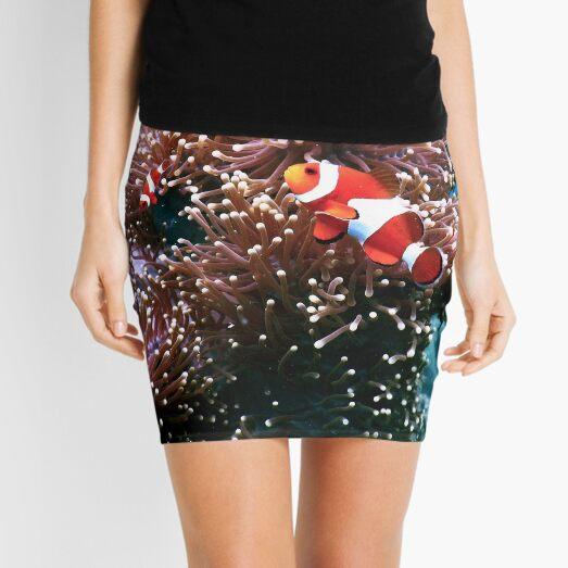 Tropical Undersea Anemone Sea Life Mini Skirt