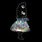 «Alicia en el país de las maravillas Tea Party noche estrellada» de maryedenoa