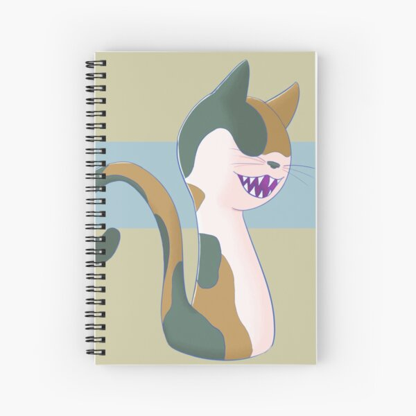 Calico Army Cat Spiral Notebook