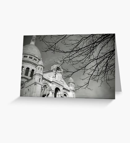 Sacré coeur Greeting Card