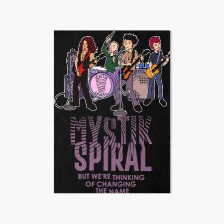 Mystik Spiral Art Board Print