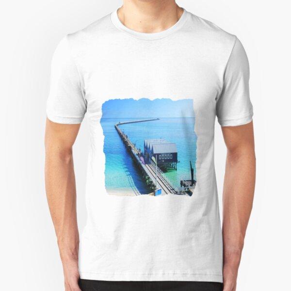 Busselton Jetty Slim Fit T-Shirt