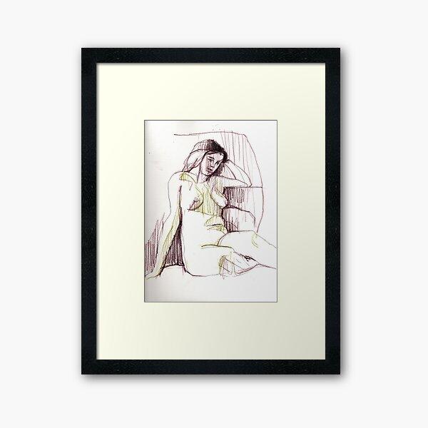 Sorina 02 Framed Art Print