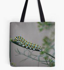 Swallowtail Caterpillar in Kansas Tote Bag