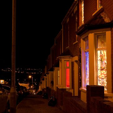 Christmastime at Stacey's house - Trinity Street, Barry by crware