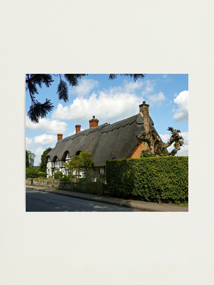 Alternate view of Cotswold Cottages Photographic Print