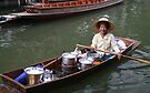 Floating market by Lois Romer