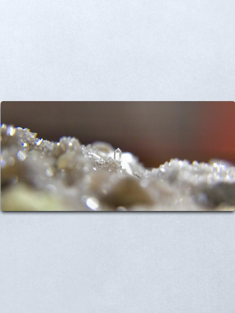 Alternate view of The Diamond Keep Metal Print