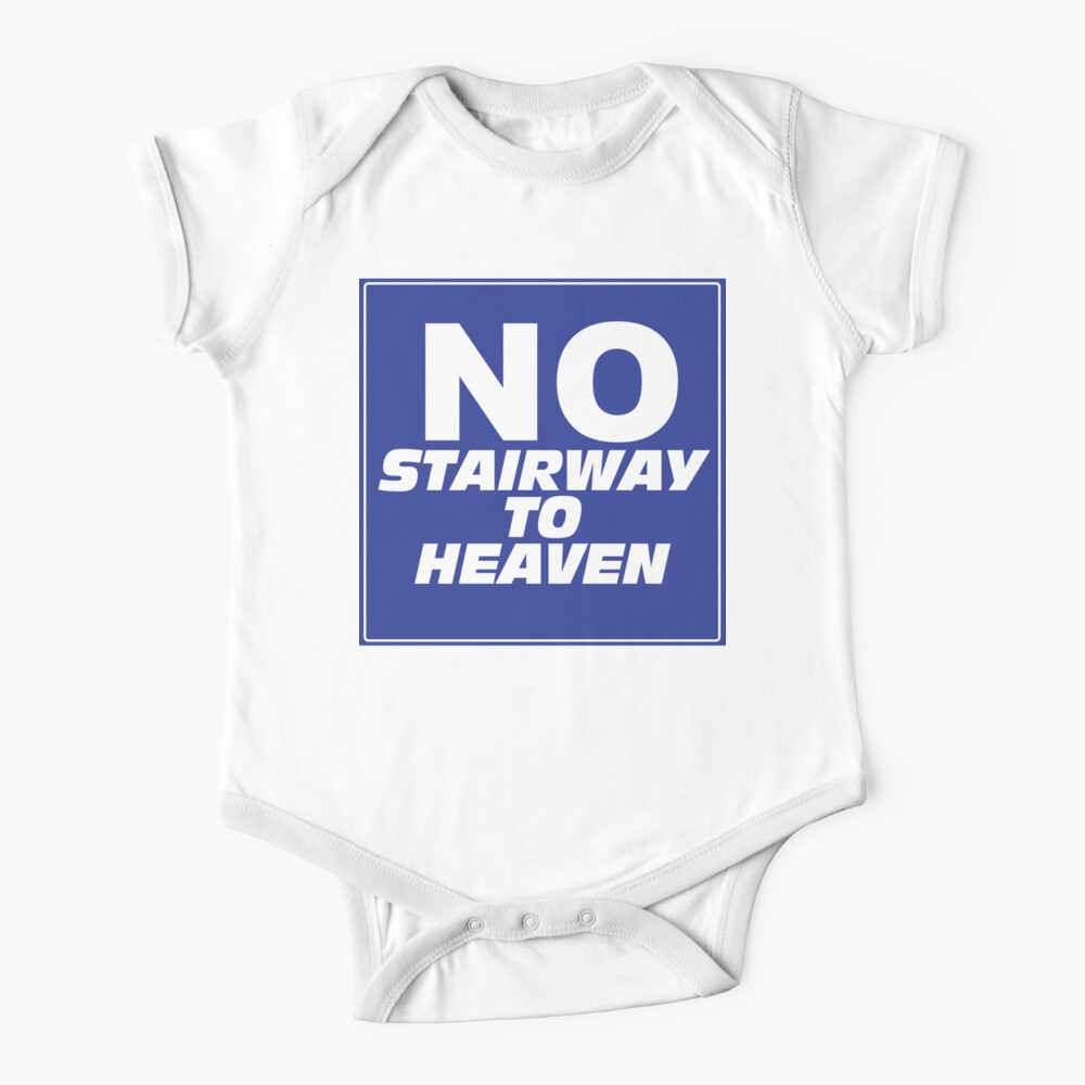 Wayne's World No Stairway to Heaven Sign Baby One-Piece