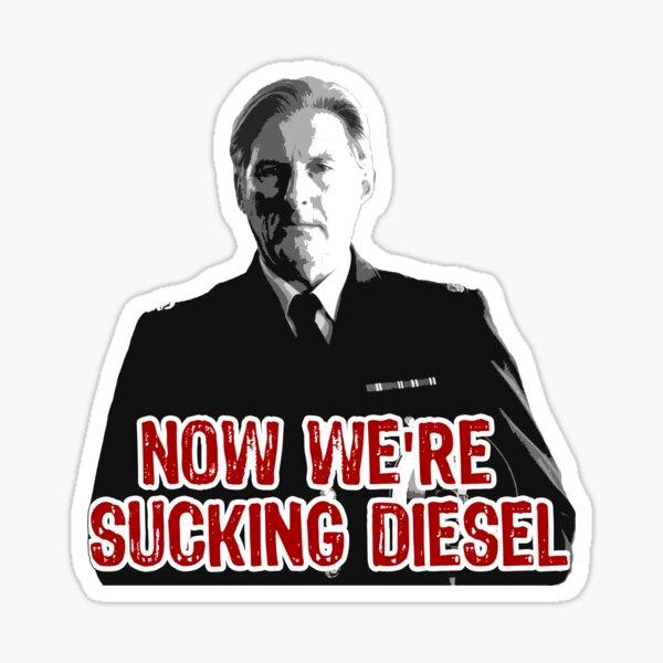 Line of Duty - Sucking Diesel Sticker