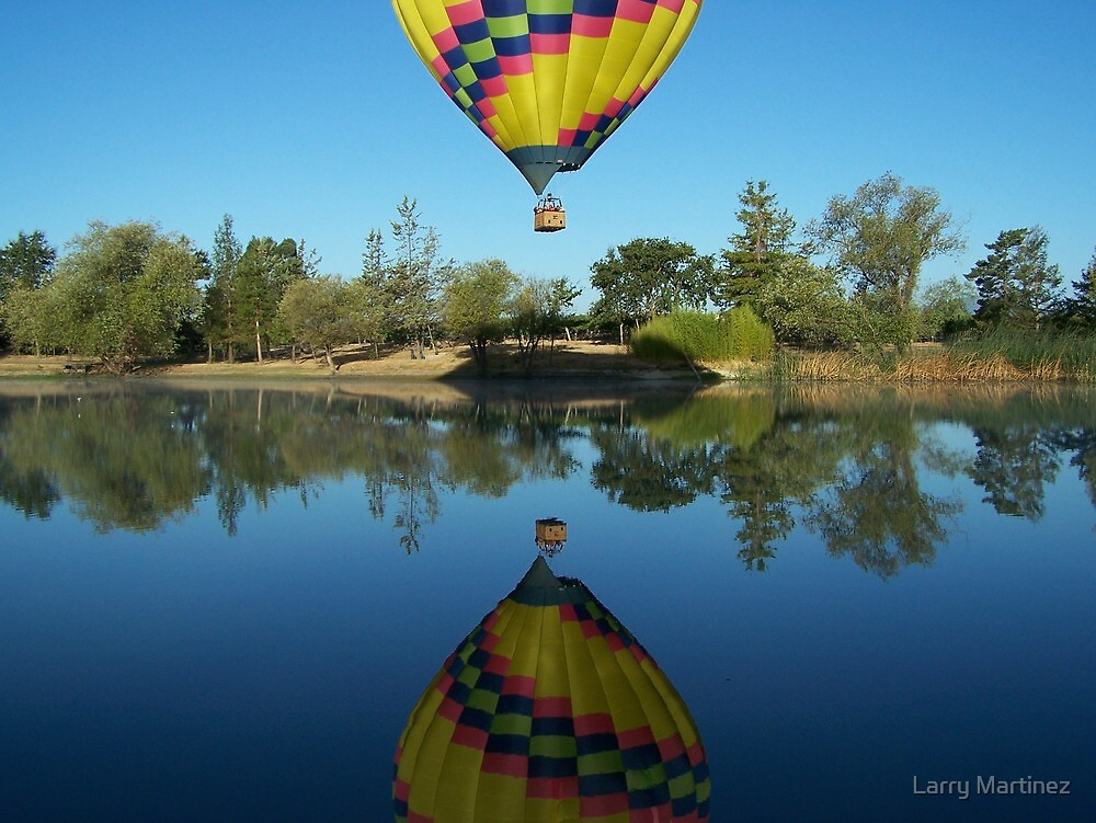California Balloon by Larry Martinez