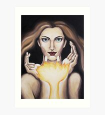 The Flame Within Art Print