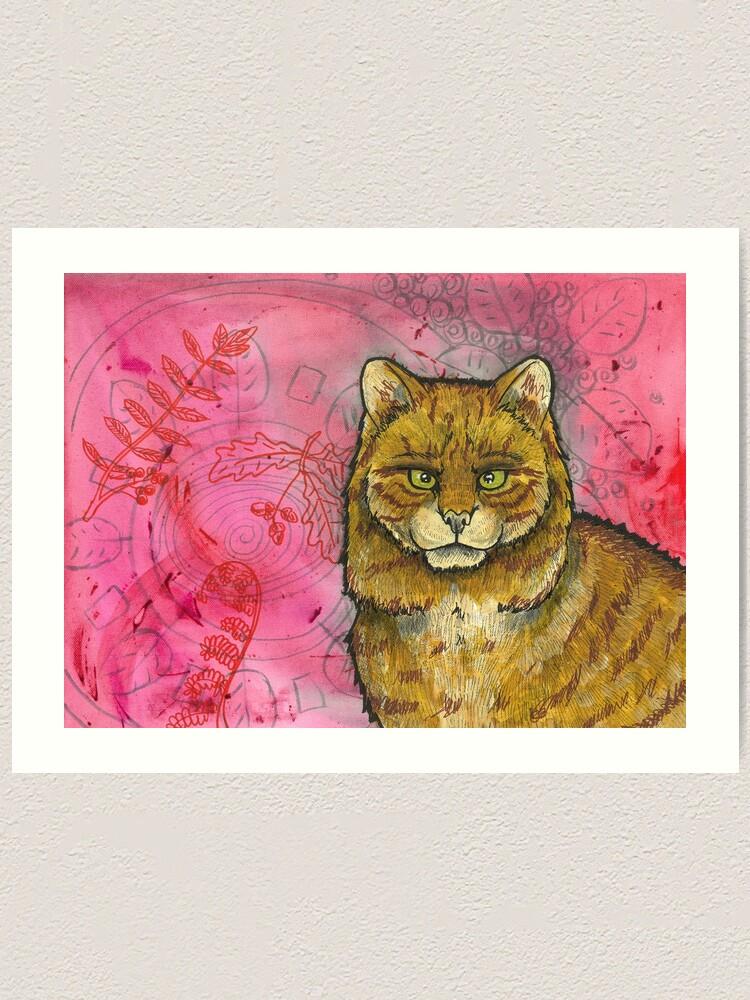 Alternate view of Wildcat Art Print