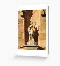 St Francis Xavier Greeting Card