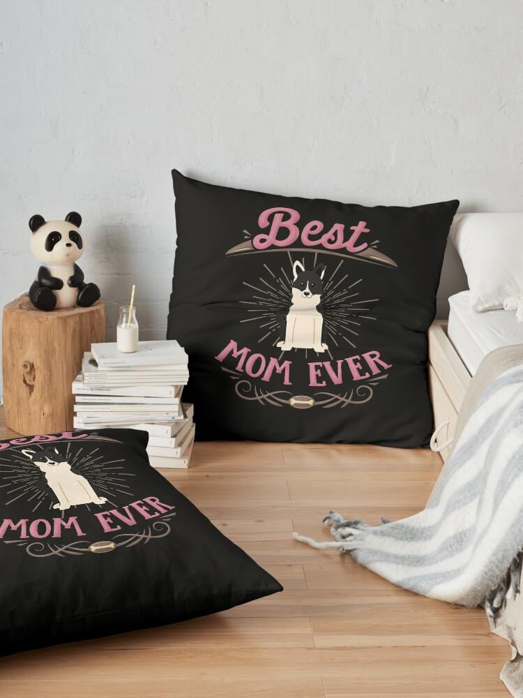 Alternate view of Russo European Laika Owner -  Best Russo European Laika Mom Floor Pillow