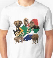 Big 5 - Südafrika Safari Unisex T-Shirt