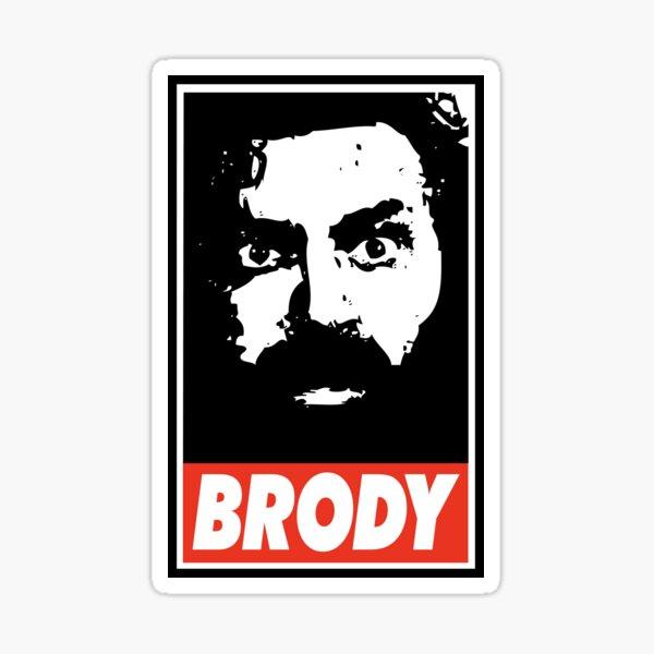 BRODY Sticker