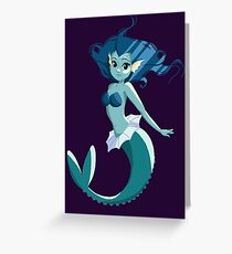 Vaporeon Greeting Card