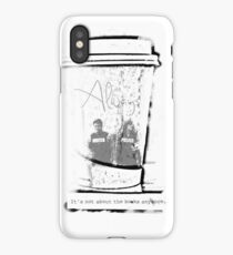 It's Not About The Books Anymore iPhone Case/Skin