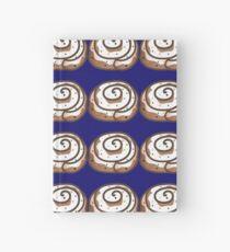 Glazed Cinnamon Roll Hardcover Journal