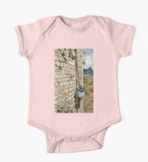 Watercolor Tribute to Arthur Rackham's Rapunzel One Piece - Short Sleeve