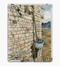 Watercolor Tribute to Arthur Rackham's Rapunzel iPad Case/Skin