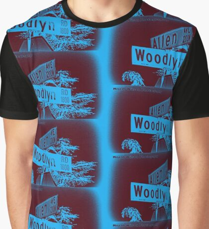 Allen Avenue & Woodlyn Road, Pasadena, CA by MWP Graphic T-Shirt