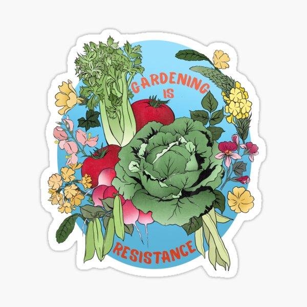 Gardening Is Resistance Sticker