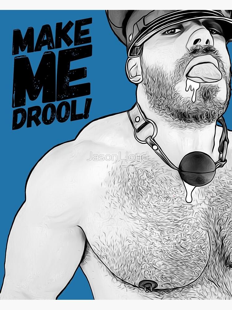 Drooling (Inktober) by JasonLloyd