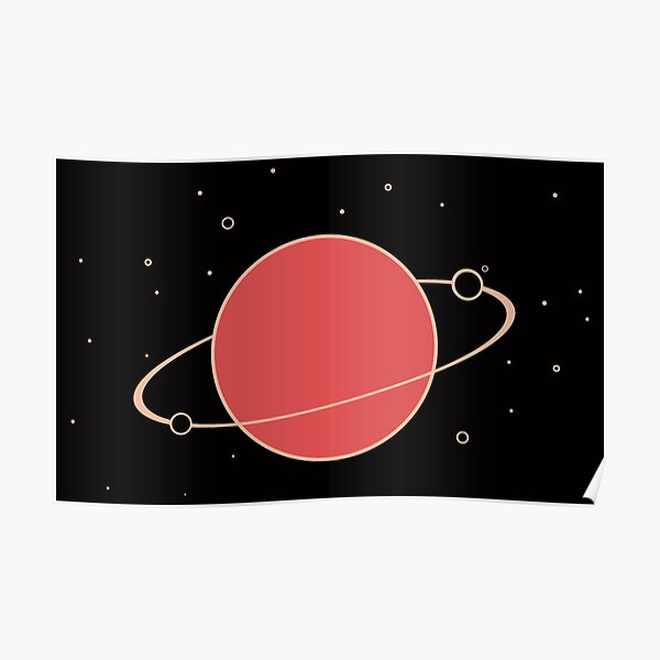 Red Orbit Poster