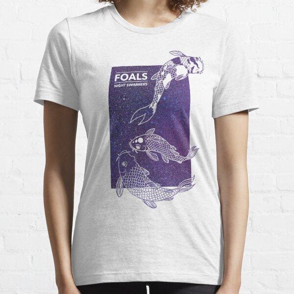 Foals Night Swimmers Camiseta esencial