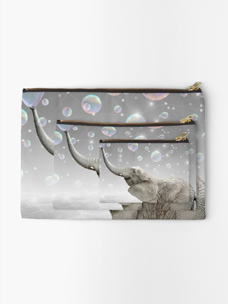 Alternate view of Simple Things Are the Most Extraordinary Zipper Pouch