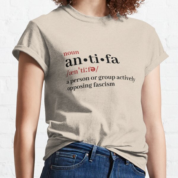 Definición antifa Camiseta clásica