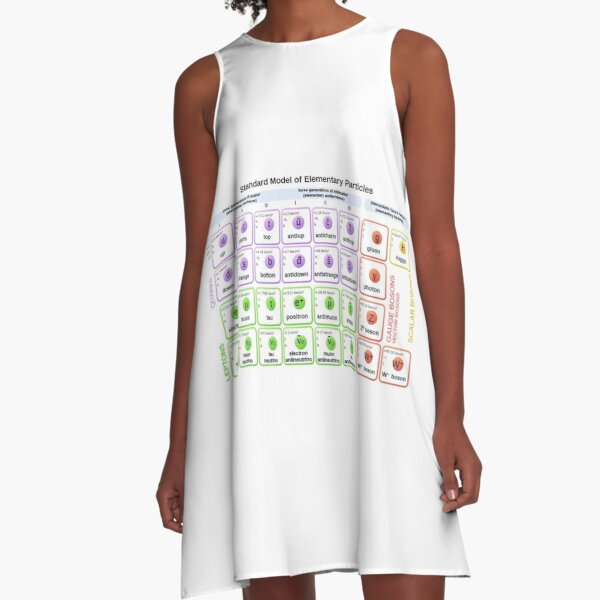#Standard #Model of #Elementary #Particles A-Line Dress