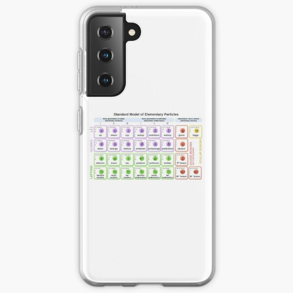 #Standard #Model of #Elementary #Particles Samsung Galaxy Soft Case