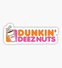 Dunkin Deeznuts Sticker