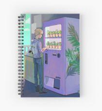 vending machine Spiral Notebook