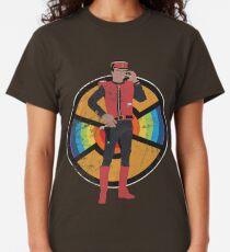 Scharlachrot des Spektrums Classic T-Shirt