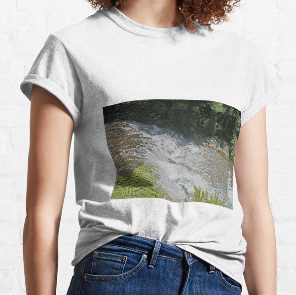 Liffey Falls, (first cascade), Tasmania, Australia Classic T-Shirt