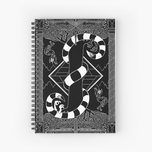 Various Happenings - Ch. 2: Small Gossip Carpet Page Spiral Notebook