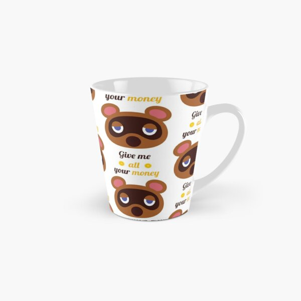 Animal Crossing - Tom Nook - Argent Mug long