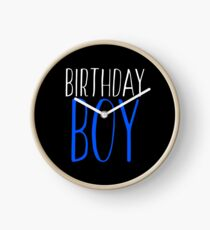 Birthday Gift - Birthday Boy Clock